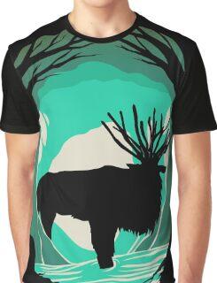 Princess Mononoke Forest Spirit Shishi Gami Sama Graphic T-Shirt