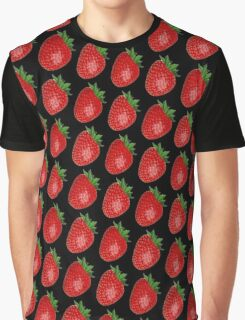 STRAWBERRIES FOREVER Graphic T-Shirt