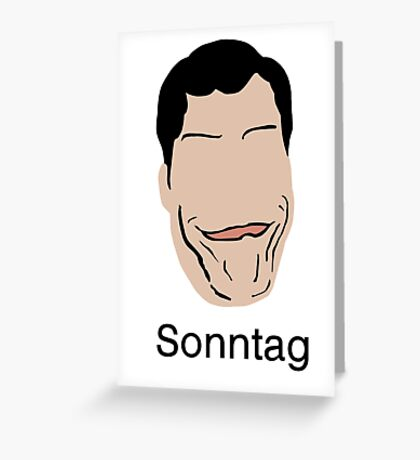 Funhaus: Lawrence Sonntag Greeting Card