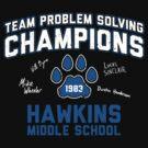 1983 Hawkins Middle School Team Problem Solving Champions by huckblade