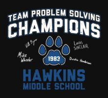 1983 Hawkins Middle School Team Problem Solving Champions Baby Tee