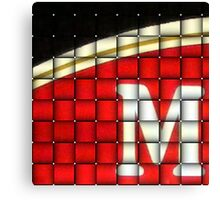M Is For..... Canvas Print