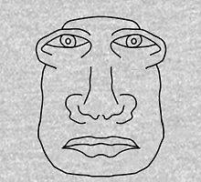 Weird Face  Unisex T-Shirt