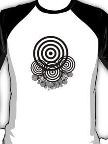 Geometrical design bullseyes T-Shirt
