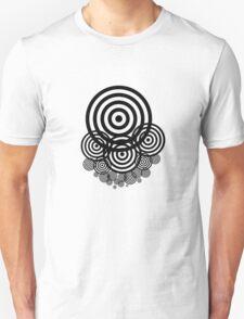 Geometrical design bullseyes Unisex T-Shirt