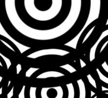 Geometrical design bullseyes Sticker