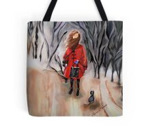 Shopping in Salem Tote Bag