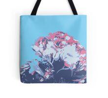Cherry blossom blue Tote Bag