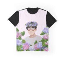 Seventeen - Flower Crown Wonwoo Graphic T-Shirt