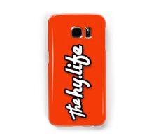 Samsung The Hylife Lifestyle Logo - Red Samsung Galaxy Case/Skin