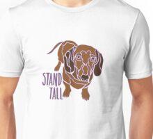 Stand Tall Dachshund Unisex T-Shirt