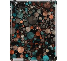 Abstraction #006 Green Black Geometric Circles Triangles iPad Case/Skin
