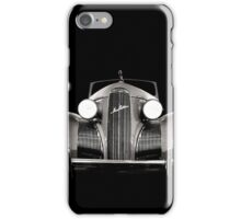 1939 LaSalle Cadillac B/W iPhone Case/Skin