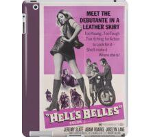 Hell's Belles (Purple) iPad Case/Skin