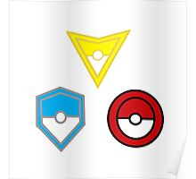 Pokemon Go- United Teams Poster