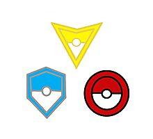 Pokemon Go- United Teams Photographic Print