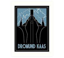 Dromund Kaas Art Deco Art Print