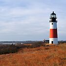 Sankaty Head Lighthouse II by Marianne Campolongo