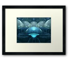 Inside A Blue Moon Framed Print