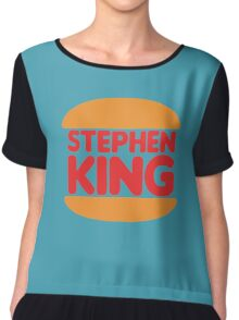 Stephen King Chiffon Top
