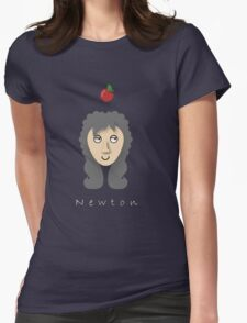 Isaac Newton Womens Fitted T-Shirt