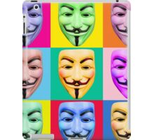 GUY FAWKES PROTEST iPad Case/Skin