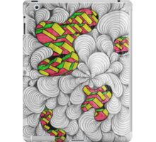 Doodle Portals to Cube Land iPad Case/Skin