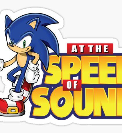 Sonic - The Speed of Sound Sticker