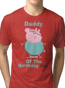 Daddy (HBD) Boy Tri-blend T-Shirt