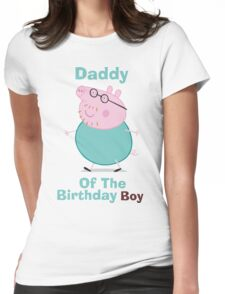 Daddy (HBD) Boy Womens Fitted T-Shirt