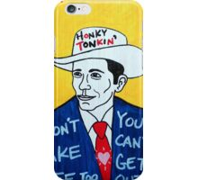 Hank Williams Country Folk Art iPhone Case/Skin