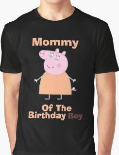 Mommy (HBD) boy Graphic T-Shirt