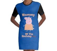 Mommy (HBD) boy Graphic T-Shirt Dress
