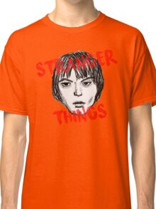 Jonathan Byers Stranger Things Fan Art Classic T-Shirt