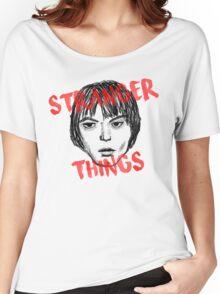 Jonathan Byers Stranger Things Fan Art Women's Relaxed Fit T-Shirt
