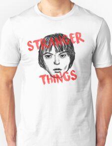 Jonathan Byers Stranger Things Fan Art Unisex T-Shirt