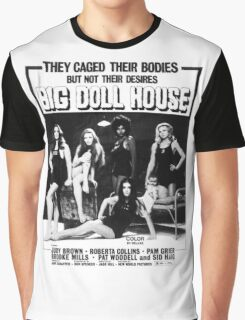 Big Doll House (Black & White) Graphic T-Shirt