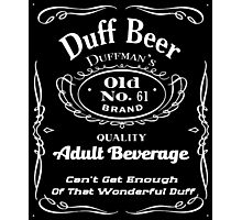 Duff Beer Photographic Print