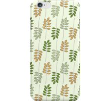 Autumnal Ferns iPhone Case/Skin