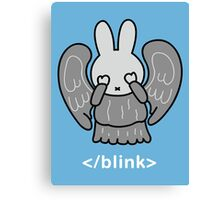 Don't Blink Miffy Canvas Print