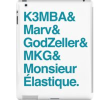 Helvetica Hornets iPad Case/Skin