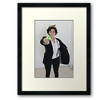 Wholock - Its a Sonic Framed Print