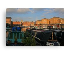 Gloucester Skyline Canvas Print