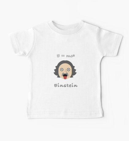 Albert Eistein Baby Tee