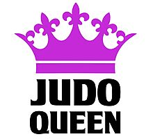 Judo Queen Funny Womens T Shirt Photographic Print
