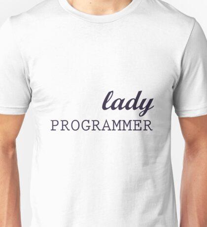 Lady Programmer Unisex T-Shirt