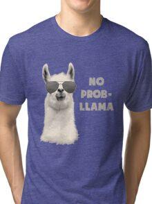 No Probllama Tri-blend T-Shirt