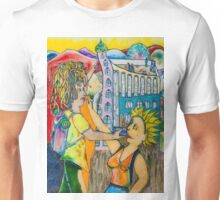 The castle on the rock and other sights Unisex T-Shirt