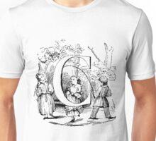 Child Alphabet Letter C Unisex T-Shirt