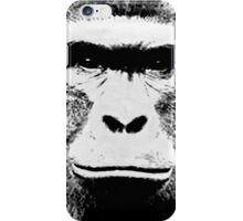 Harambe B/W iPhone Case/Skin
